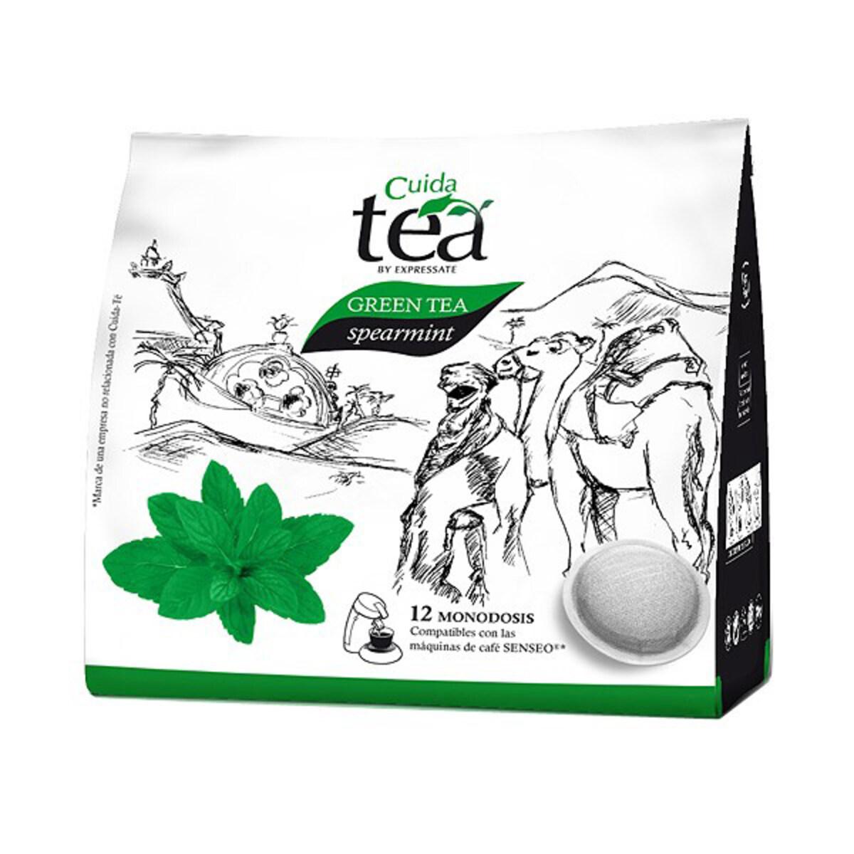 Cuida Green Tea Spearmint - Сенсео съвместим пад чай мента