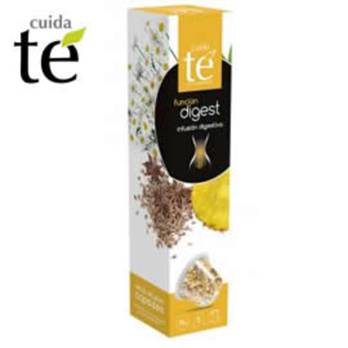 Cuida Te Digest - Неспресо съвместима капсула ройбос чай за лесно храносмилане