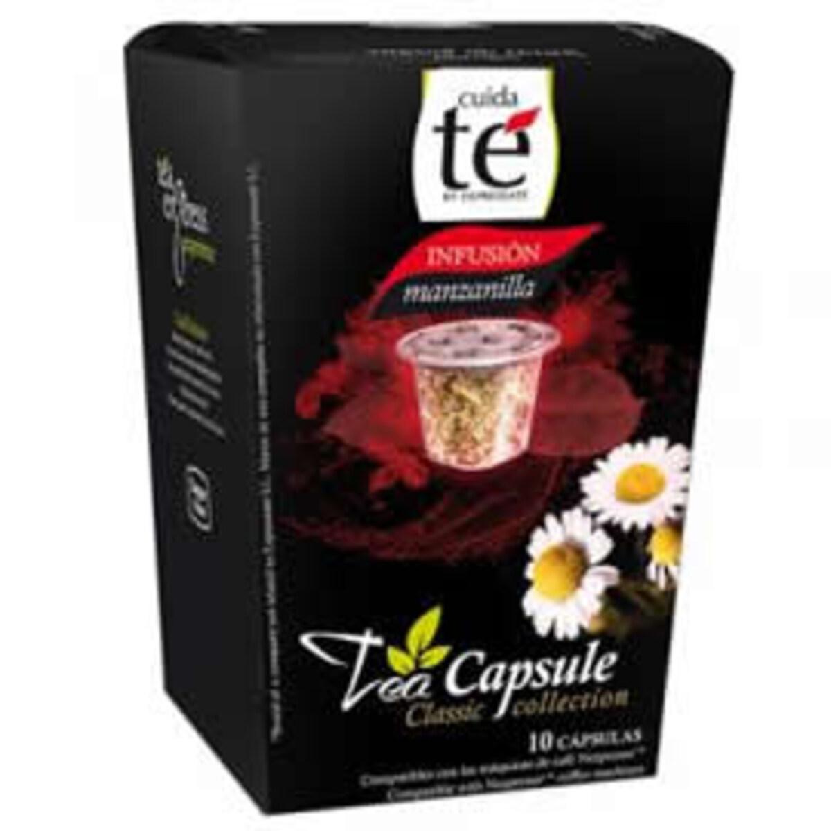 Cuida Te Infusion Chamomile - Неспресо съвместима капсула ройбос чай с лайка