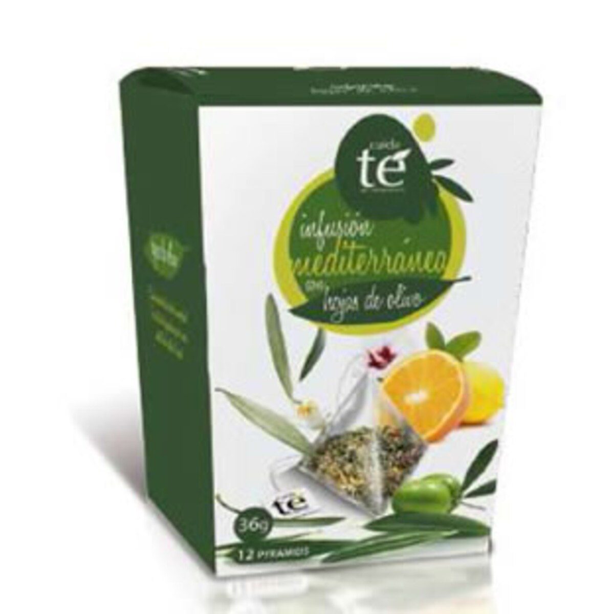 Cuida Te Infusion Mediterranea с маслинени листа