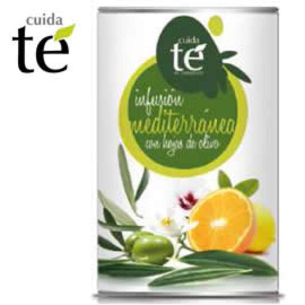 Cuida Te Mediterranea - насипен чай с маслинени листа