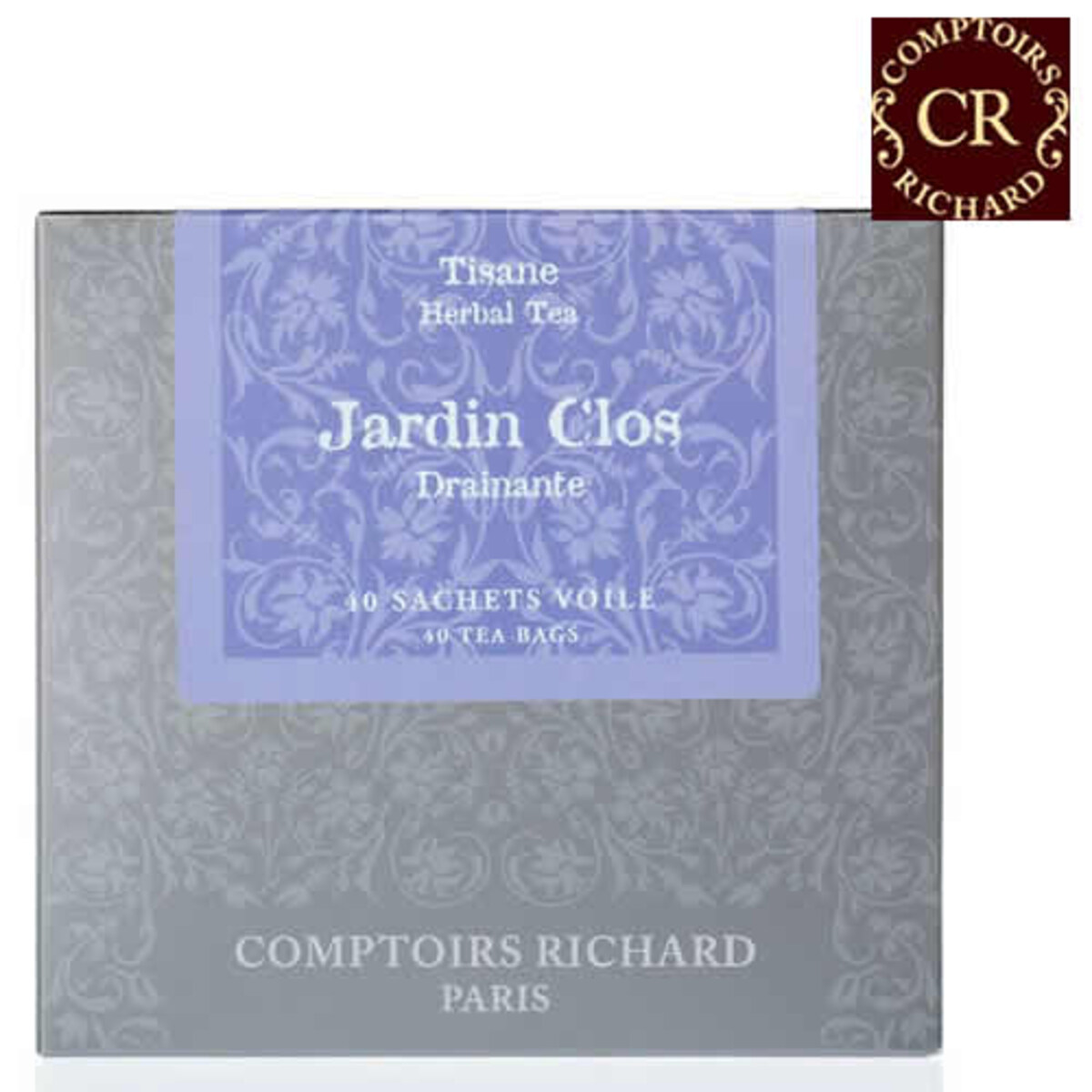 Comptoirs Richard Jardin Clos Drainante - 40бр сашета билков чай Забранената градина