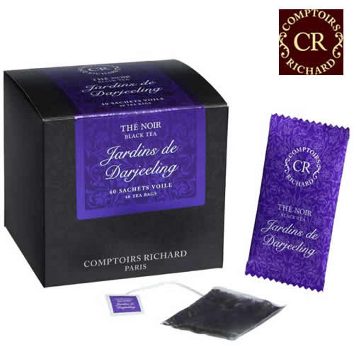 Comptoirs Richard Jardins de Darjeeling - 40бр сашета черен чай