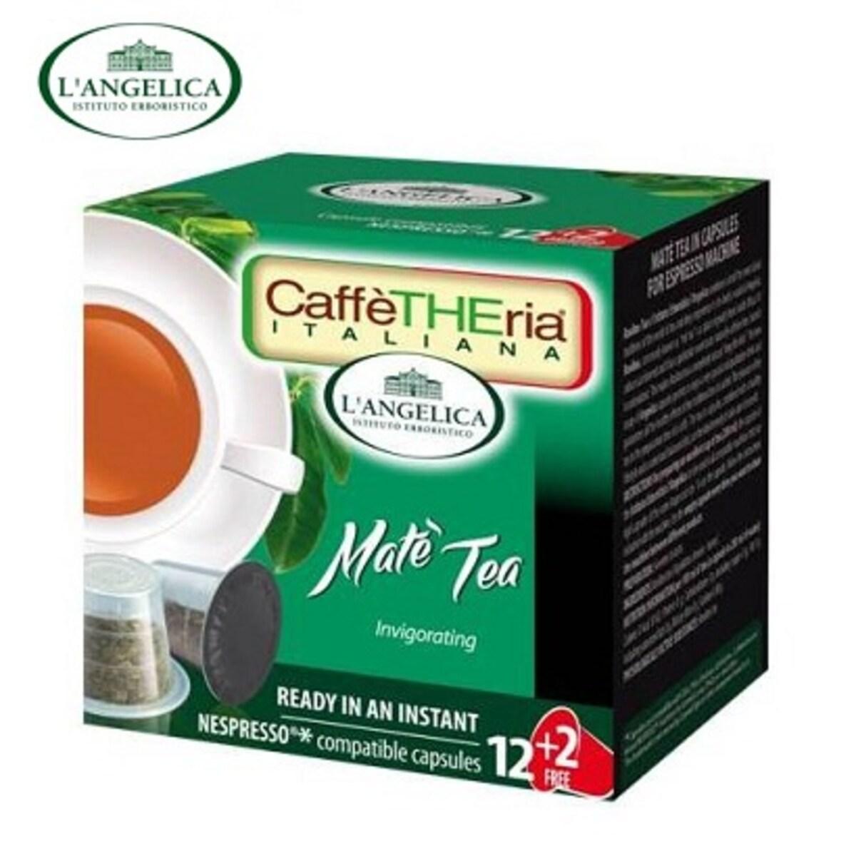 L'angelicа - Чай Мате, капсули за Nespresso кафе машина