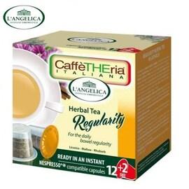 L'angelicа - Регулиращ чай, капсули за Nespresso кафе машина