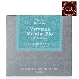 Comptoirs Richard Verveine Menthe Bio  - 40бр сашета био билков чай върбинка и мента