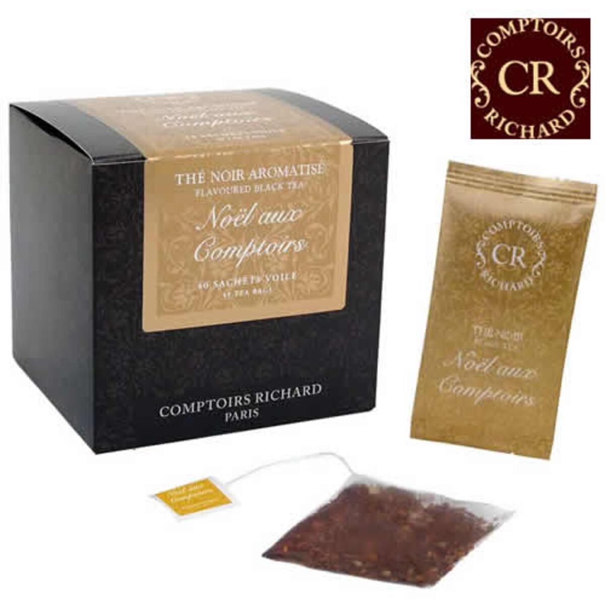 Comptoirs Richard Noël aux Comptoirs чай на сашета