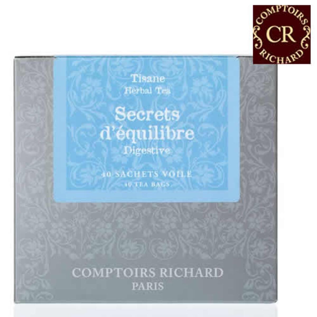 Comptoirs Richard Secrets d'équilibre - 40бр сашета билков чай Тайната на равновесието