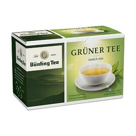 Зелен чай Bünting Tee 20бр сашета