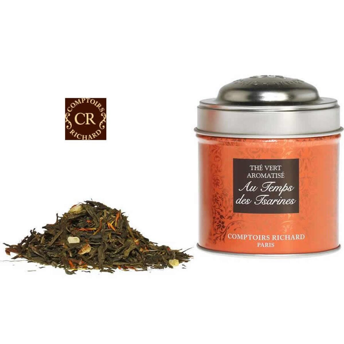 Comptoirs Richard Au Temps des Tsarines - насипен зелен чай