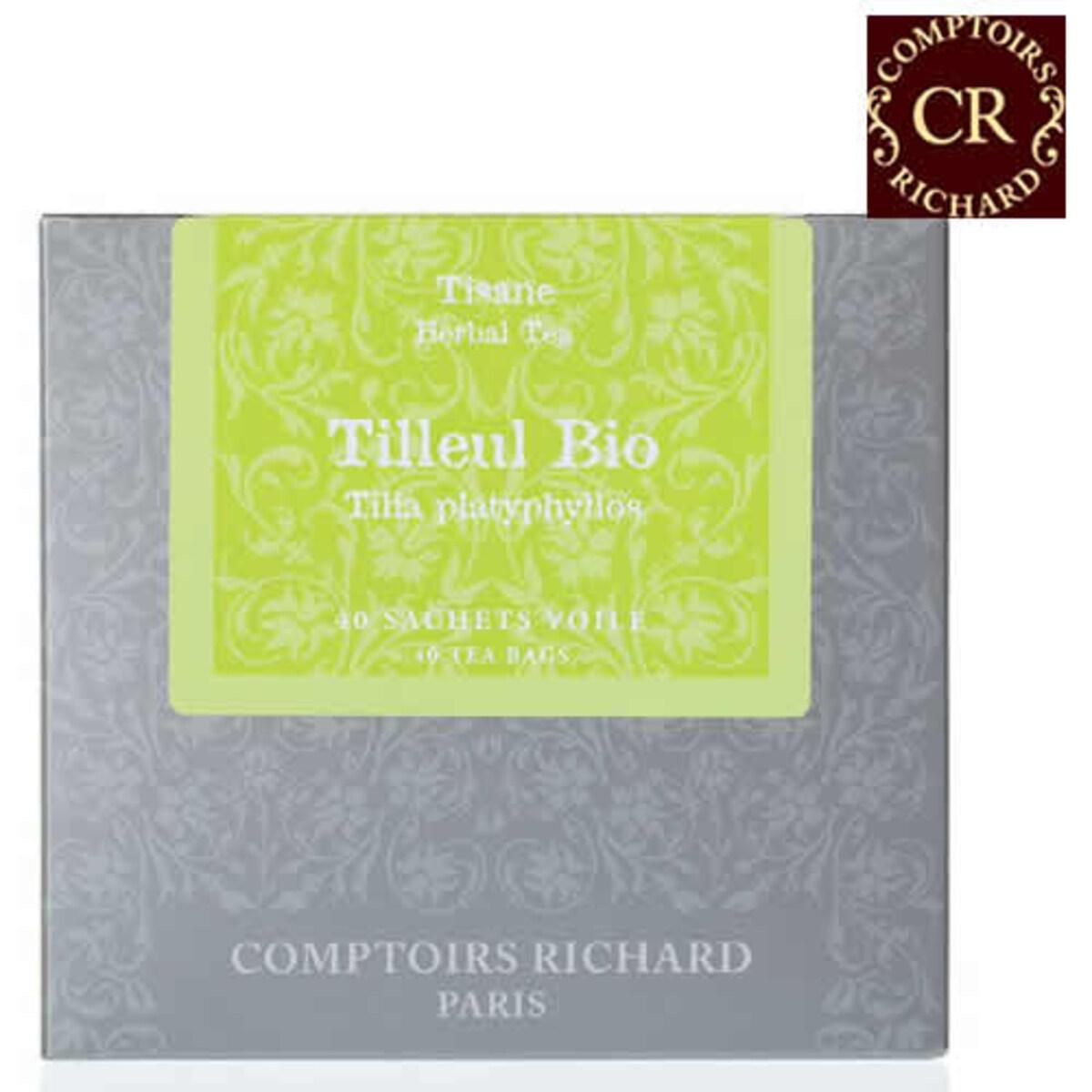 Comptoirs Richard Tilleul Bio 40 сашета био билков чай Липов