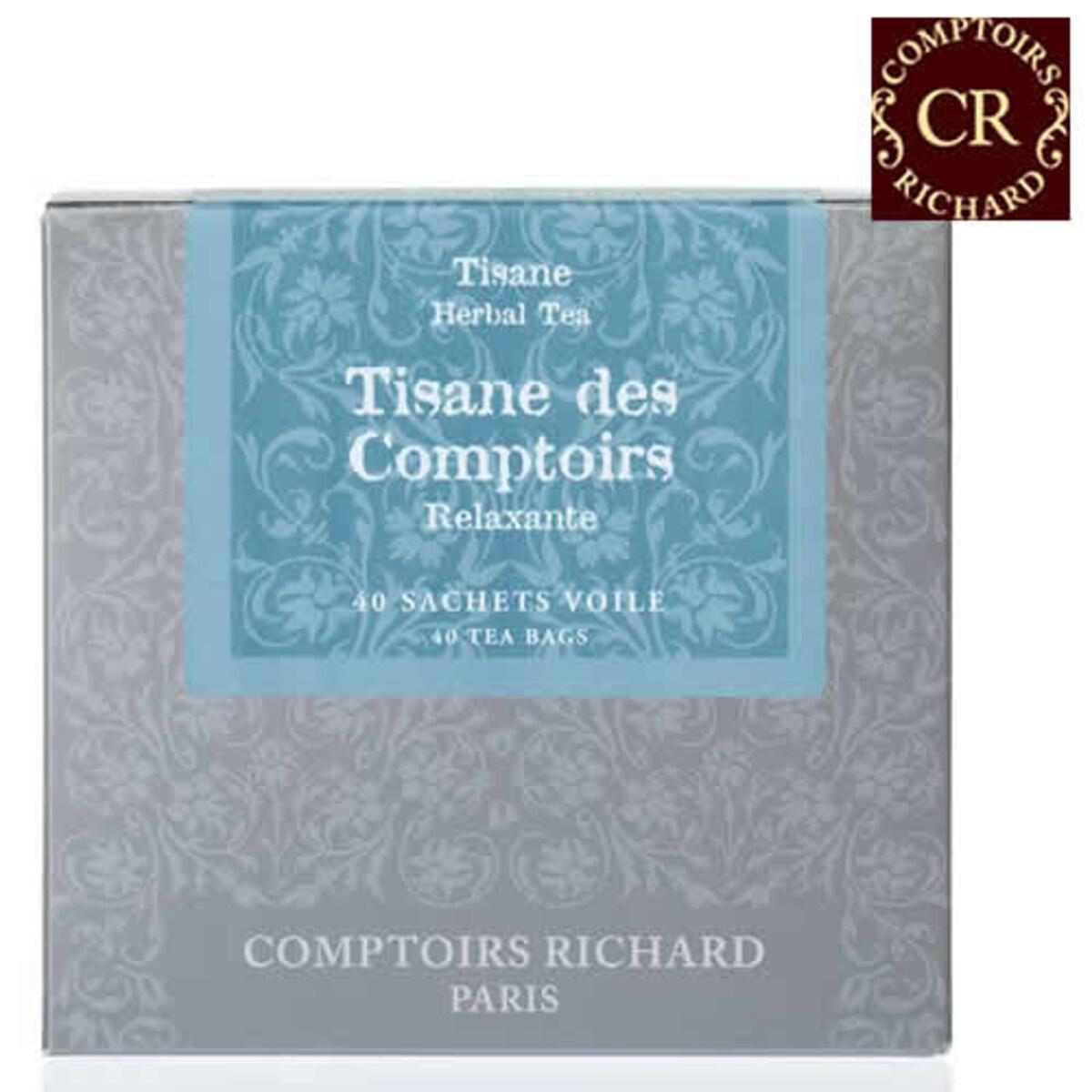 Comptoirs Richard - 40бр сашета билков чай Бутик Ришар
