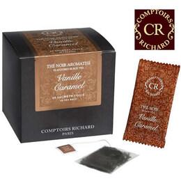 Comptoirs Richard - 40бр сашета черен чай Ванилия и Карамел