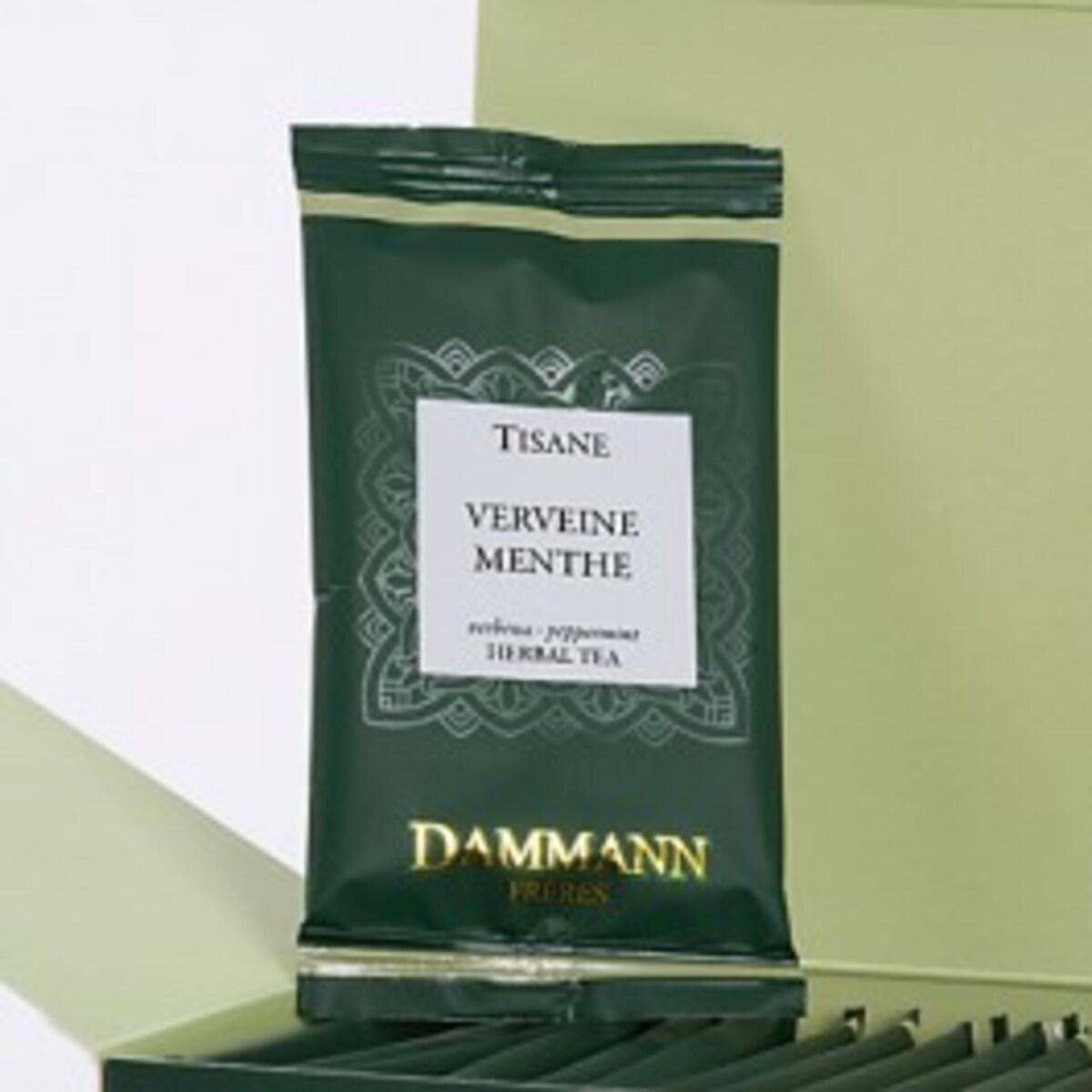 Билков чай Dammann Мента и върбинка - 24 бр сашета в кутия