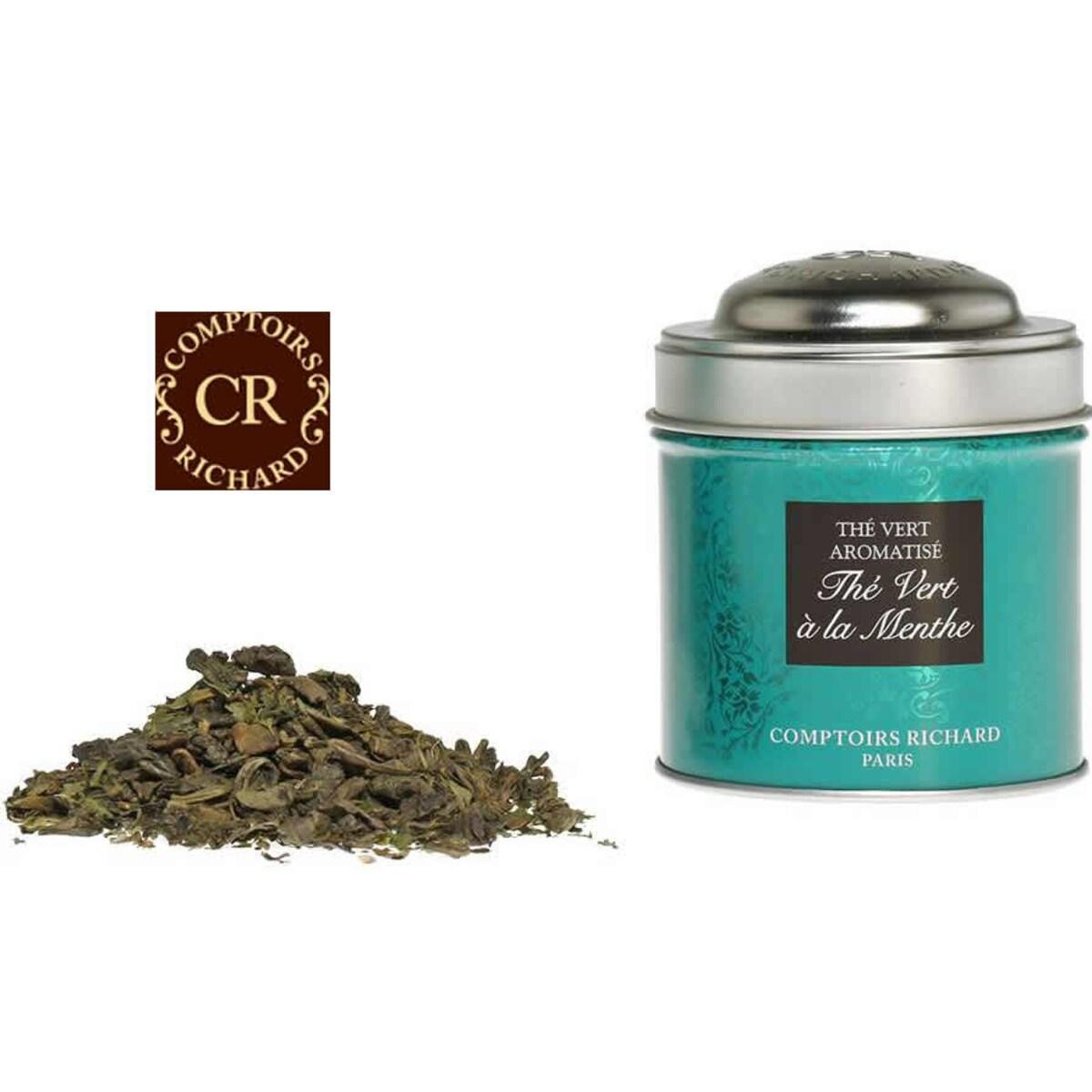 Comptoirs Richard Thé Vert à la Menthe - насипен зелен чай