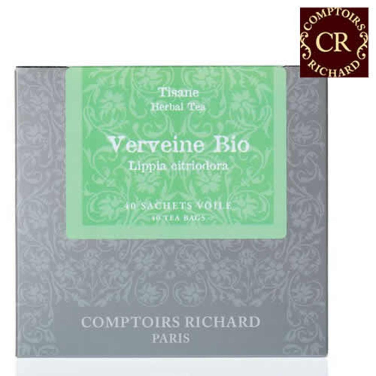Comptoirs Richard Verveine Bio - 40бр сашета билков чай био Върбинка