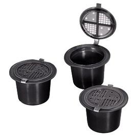 Xavax 3бр капсули за многократна употреба за Nespresso кафемашина